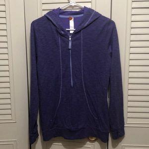 Lucy half zip hoodie pullover